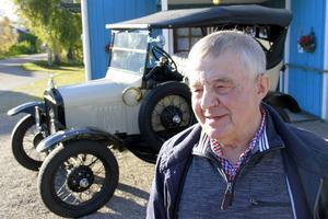 Exakt hur många T-fordbyggen Sture Lundin varit involverad i vet han inte, troligen kring 200.