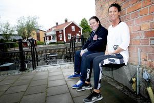 Nu förverkligar Sussi Wilén-Dacke, till höger i bild, sin dröm.