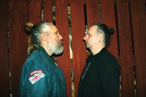 Ola Brunius och John Andréasson bildade nyligen ett band.