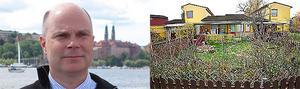 Sverigedemokraten John Bergström får sin post till huset på Skälby, men där har inga grannar sett till honom.