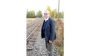 Per-Anders Westhed blir upprörd över Trafikverkets agerande. Foto: Sven Thomsen