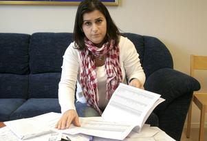 Drekshan Abdulla är besviken över ARN:s beslut att avvisa grupptalan från de Irakresenärer som lurats på sina hemresor. Men hon ger inte upp utan hoppas nu på reseförsäkringen.
