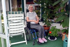 Margot Andersson är missnöjd med färdtjänst och hemtjänst i kommunen.