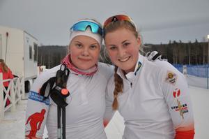 Gry Abrahamsson Gjersvold  och Gabriella Pålsson Utrikes, slutade 3.a i DM-stafetten över 4x2,5 km både klassisk stil och fristil. Klassen D17-18 vanns av Offerdal före ÖSK på andra plats.