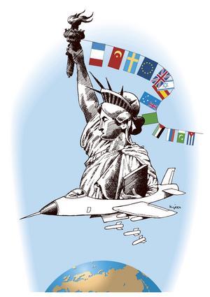 Efter terroristattackerna 9/11 2001 startade USA det så kallade kriget mot terrorismen.