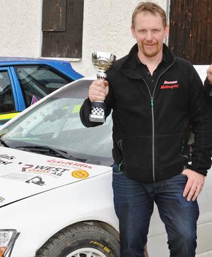 Patrik Åkerman vann Malmjärn runt.