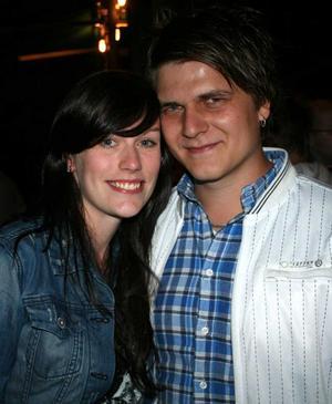 Sjökrogen. Alexandra och Andreas