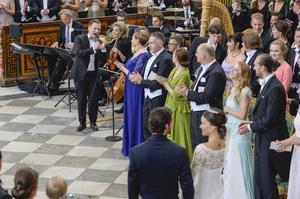 Samuel Ljungblahd fick äran att sjunga på prinsbröllopet i juni. Söndag kväll uppträder han i Tonhallen.