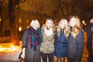 Linn GIllsäter, Sara Johansson, Karoline Ropponen och Gabriella Klas.