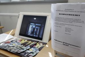 Några elever har gjort en film för att locka sökande till bandygymnasiet.