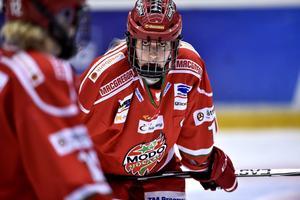 Mododamernas lagkapten Erika Grahm berättar om den olyckliga situationen mot Sundsvall Wildcats där hennes lagkamrat Isabell Palm fick matchstraff.