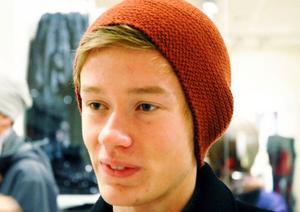 Tobias Asp, 18 år, Oviken:– Jag minns finanskrisen. Det var nog årets största händelse.
