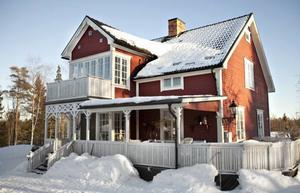 Huset byggdes av Kristers morfar.