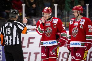 Modos lagkapten Samuel Påhlsson var inte nöjd med power play och målskyttet mot Färjestad.