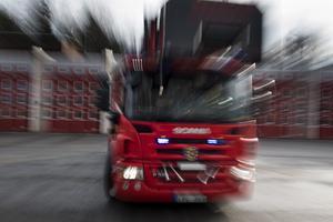 En singelolycka inträffade på onsdagsförmiddagen söder om Furudal i Rättviks kommun. Obs: Bilden är tagen i ett annat sammanhang.