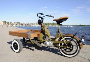 I vår ska mopeden ställas ut på Bollnäs Motorrevy.