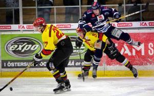 Det blev seger för ÖHC i gårdagens match mot Ånge. 5–2 skrevs slutresultatet. Foto: Håkan Luthman