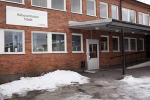 Hälsocentralen Stöde föreslås bantas till filial. Bild: Hannes Holmström