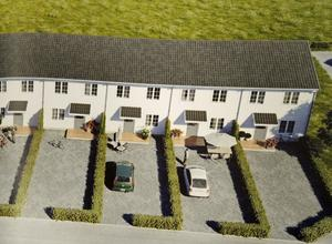 Framfast byggde nio parhus med bostadsrätter i Borlänge. I maj 2016 såldes de på ett par timmar.