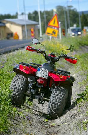 Böter för fyrhjulingskörning