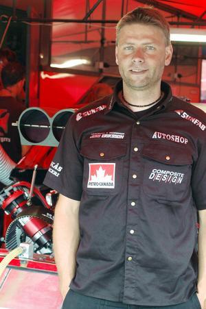 Niclas Andersson kvar kvaltrea och gick vidare från första rundan.
