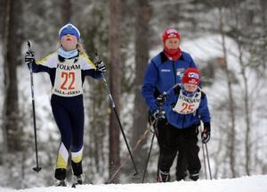 22 Emelie Eriksson Dala-Järna och Moras Ida Garfvé