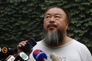 Den världsberömde kinesiske regimkritikern och konstnären Ai Weiwei står i centrum under torsdagens föreläsning.
