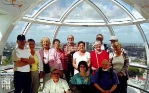 Säfsnäs PRO i London Eye.FOTO PRIVAT