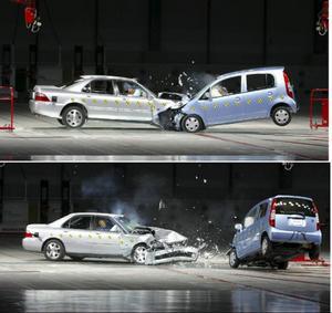 Det är inte farten som dödar utan det plötsliga stoppet, brukar det heta.Foto: Honda