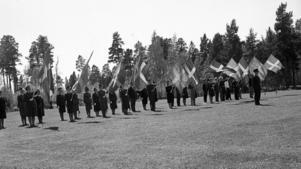 Regementets dag 1964.
