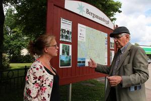 Inga-Marie Petterson Jensson och Ingemar Udd brinner båda för Bergslagens historia.
