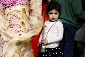 Elvira Uzun 3 år var med och firade.