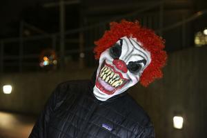 Clownskräcken har nu nått även Sverige.