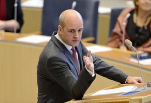 Statsminister Fredrik Reinfeldt (M) kom taggad till onsdagens partiledardebatt, inspirerad av att ha fått uppleva den svenska fotbollsframgången i Tyskland några timmar tigare.