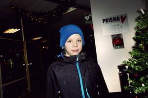 Henrik Juslin Hägglund har den nyaste mössan i stan.