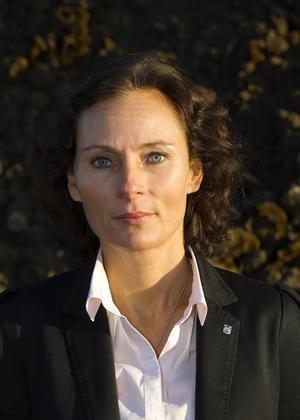 Sara Helmersson,  bygg- och miljödirektör i Norrtälje kommun. Foto: Bo Åhs