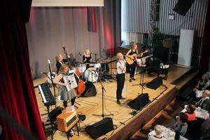 Unga bandet Fröken var höstens första Musiksoppa i Gävle, ett arrangemang av Kulturutveckling Gävleborg.