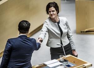Anna Kinberg Batras invit handlar inte om en eventuell berörningsskräck med Sverigedemokraterna, det handlar om Alliansens sammanhållning.