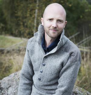 David Jonstad, författare, klimatdebattör och ny krönikör på Dala-Demokraten.