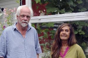 Arrangörerna och grundarna av Stocka Filmfestival Nils Olof Hedenskog och Yvonne Leff. Foto: Christina Busck.