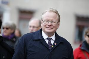Peter Hultqvist är stolt att det hålls regeringssammanträde i Dalarna.