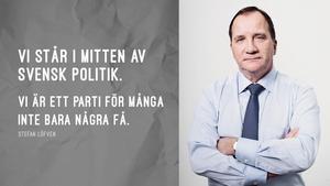 Ett av Socialdemokraternas och Stefan Löfvens senaste utspel.
