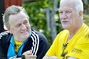 Arbetarbladet besöker Gårdskär, Larsgöran Svensson och Nils-Olov Engberg