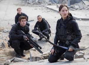 Den sista Hunger Games-filmen visas den 18:e, 20:e och 22:a november.
