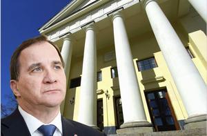 På torsdagskvällen talar Stefan Löfven i Cassels i Grängesberg, och det är ingen slump konstaterar DT:s ledarredaktion