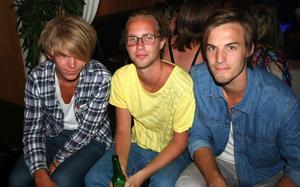 Pluto. Alex, Fredrik och Jesper