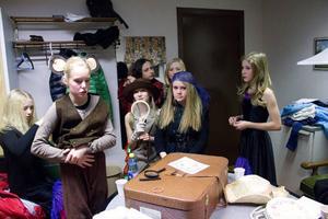 Alla elever på Fjällängsskolan, 200 totalt, satte upp musikalen Det försvunna receptet. En musikal de haft råd att göra genom sökta pengar från Statens kulturråd. På bilden syns musikalens huvudrollsinnehavare från klass 5.