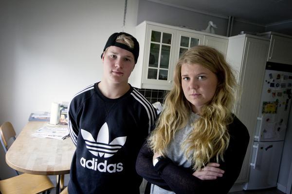 Syskonen Mikko och Lotta Nurmilehto är båda chockade och oroade efter vad som hände Alice.