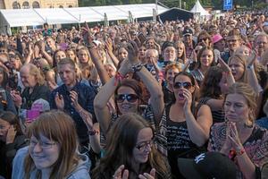 Stora folksamlingar är ofta målen för terrordåd. Fotograf: Peter Krüger