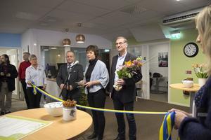 Bollnäs kommunalråd Marie Centerwall (S) framhöll i sitt invigningstal att genom navet ska ungdomsaretslösheten i Bollnäs halveras.